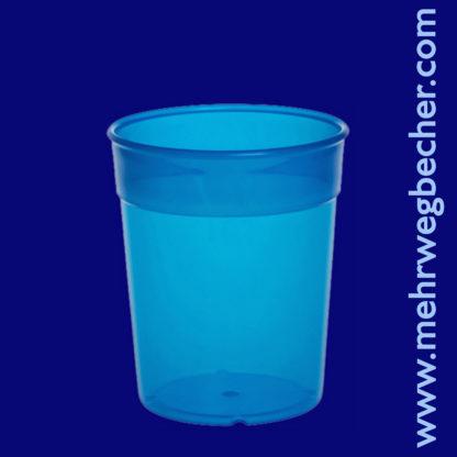 9025-5--reusable-cup-0,2l-pp-blue-plastic