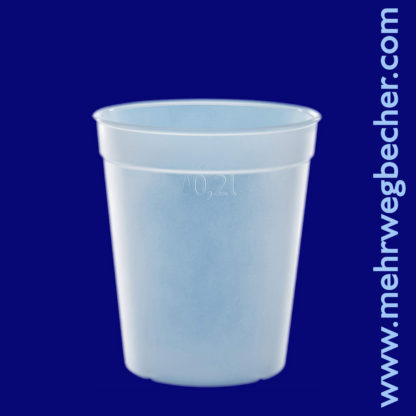 9025-6--reusable-cup-0,2l-pp-frosted-plastic