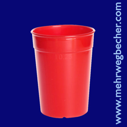 9027-2-reusable-cup-0,25l-pp-red-plastic