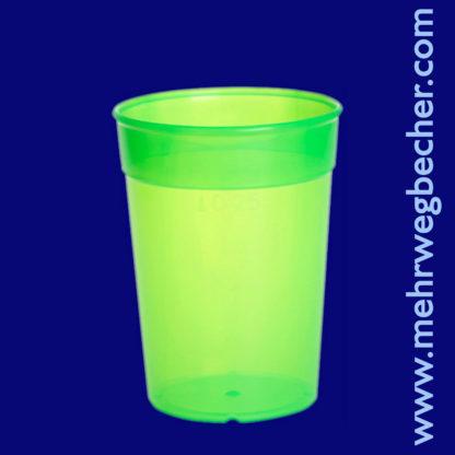9027-3-reusable-cup-0,25l-pp-green-plastic