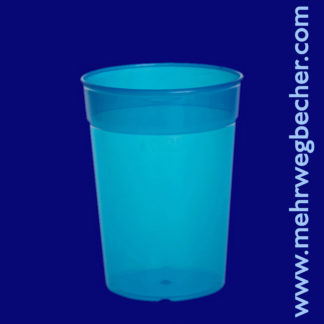 9027-5-reusable-cup-0,25l-pp-blue-plastic