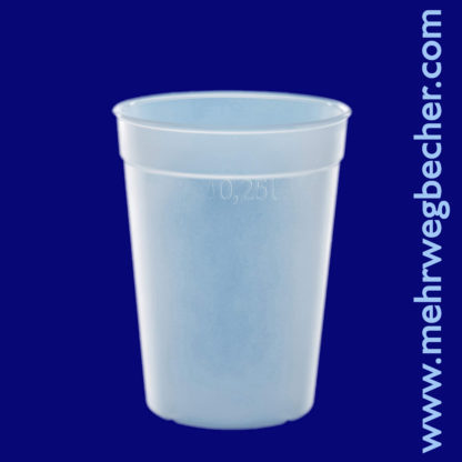 9027-6--reusable-cup-0,25l-pp-frosted-plastic