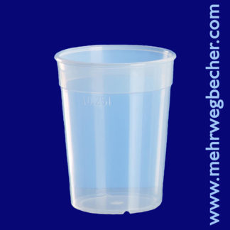 9027--reusable-cup-0,25l-pp-transparent-plastic