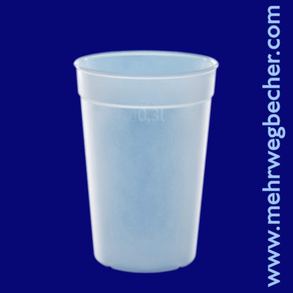9029-6--reusable-cup-0,3l-pp-frosted-plastic