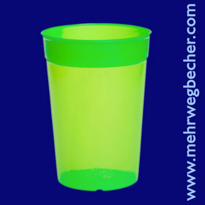 9031-3-reusable-cup-0,4l-pp-green-plastic
