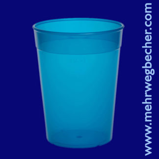 9031-5-reusable-cup-0,4l-pp-blue-plastic