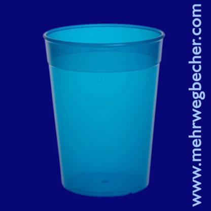 9031-5-reusable-cup-0,4l-pp-blue-plastic