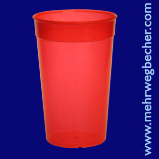9033-2-reusable-cup-0,5l-pp-red-plastic