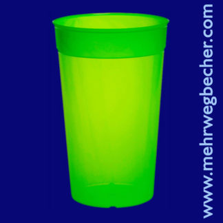 9033-3-reusable-cup-0,5l-pp-green-plastic