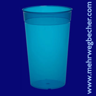 9033-5-reusable-cup-0,5l-pp-blue-plastic
