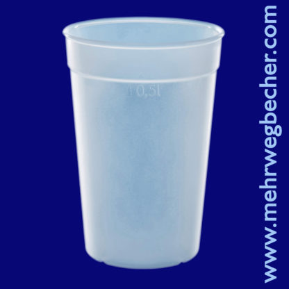 9033-6--reusable-cup-0,5l-pp-frosted-plastic
