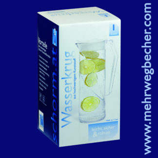 9088-water-jug-​​1l-san-crystal-clear-with-transparent-lid-sale-box-1